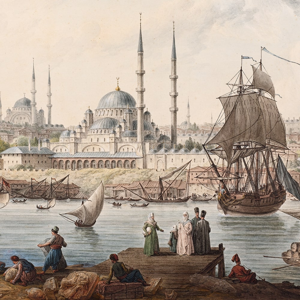 Yeni Camii and The Port of İstanbul