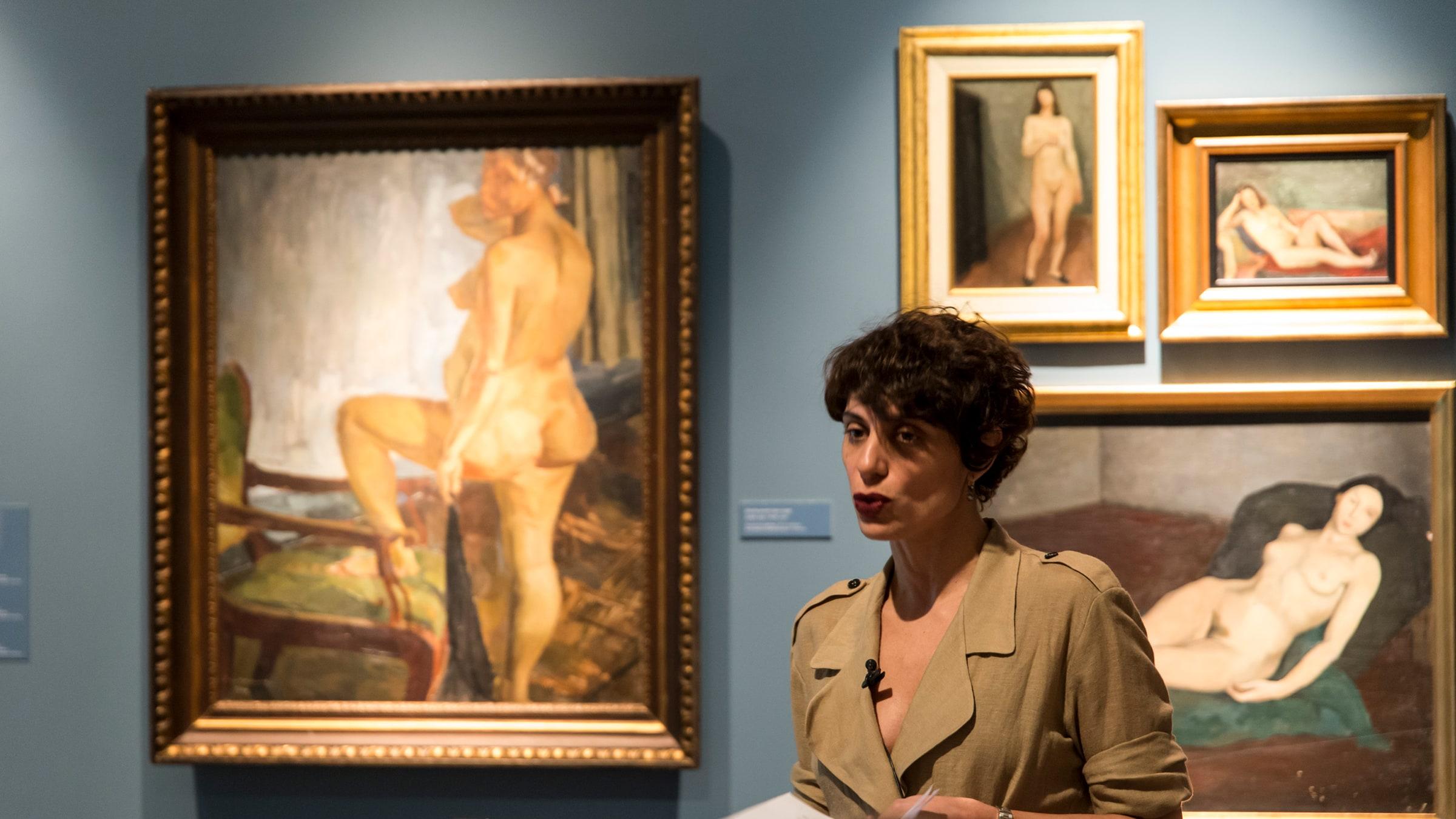 """Can Nudity Be Translated?"" <br/>Deniz Artun"