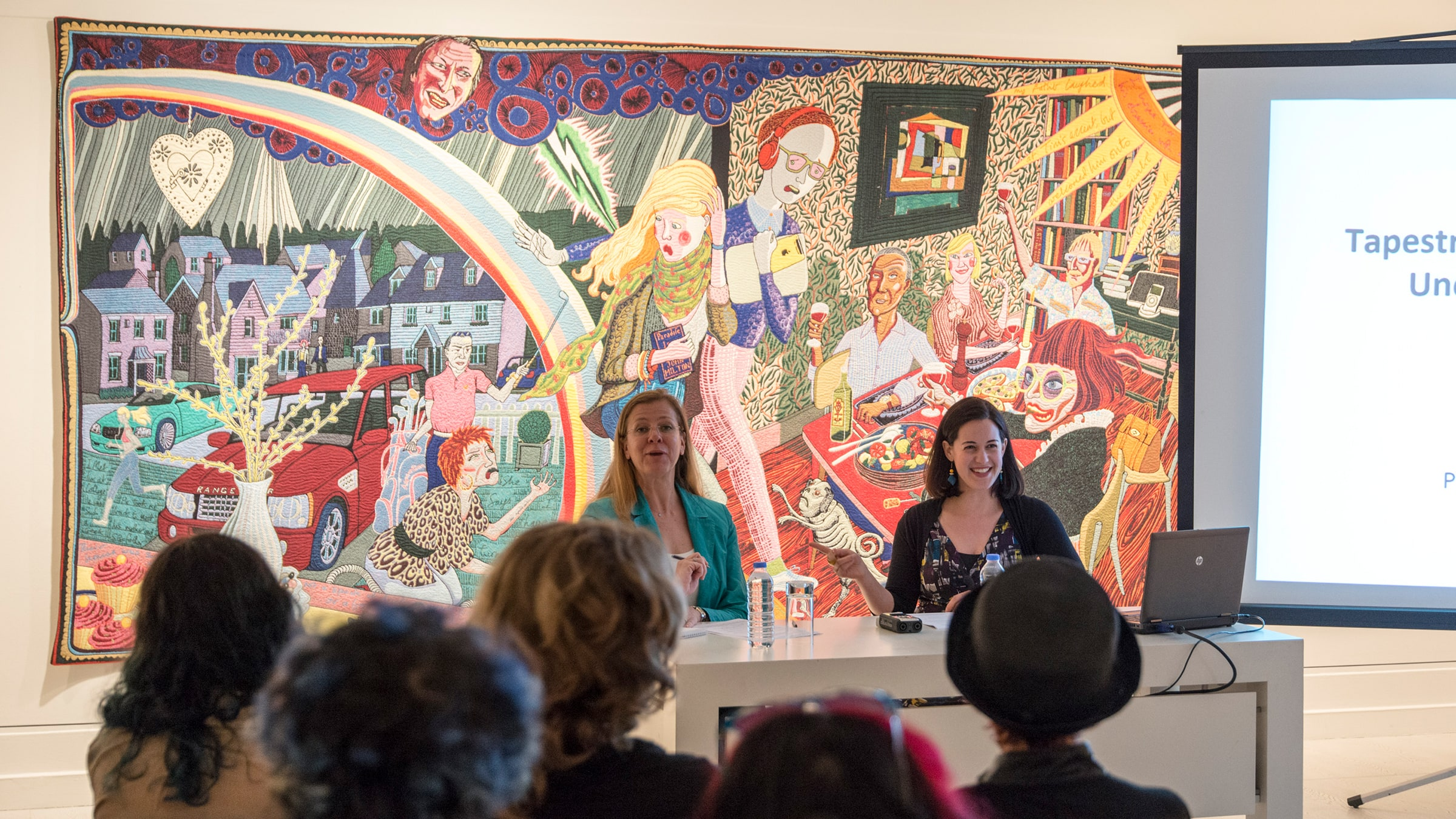 """Jacky Klein: """"Tapestry, Taste and Teddy Bears: Uncovering the World of Grayson Perry"""""""
