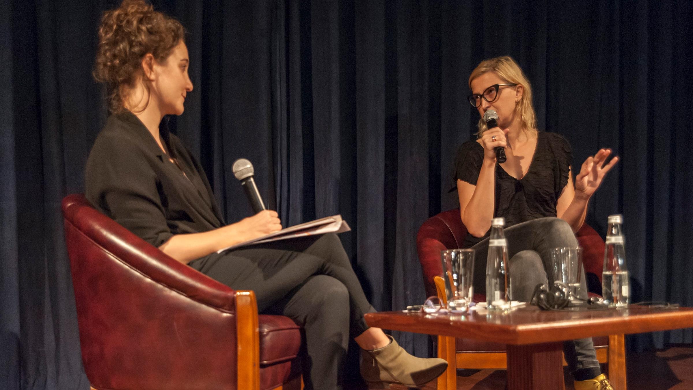 Director Jasmila Žbanić in Conversation