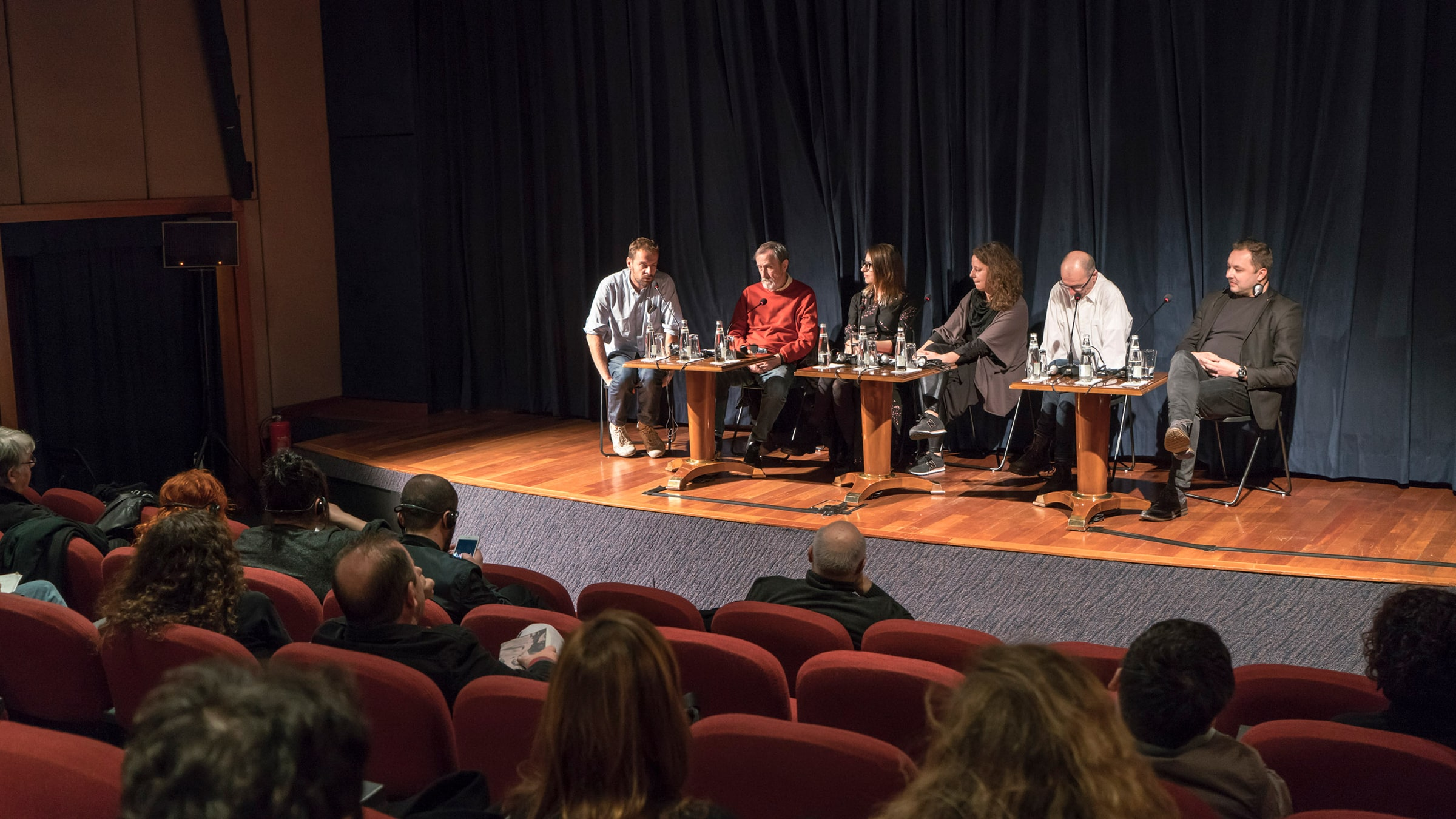 Curators in Conversation with the Artists