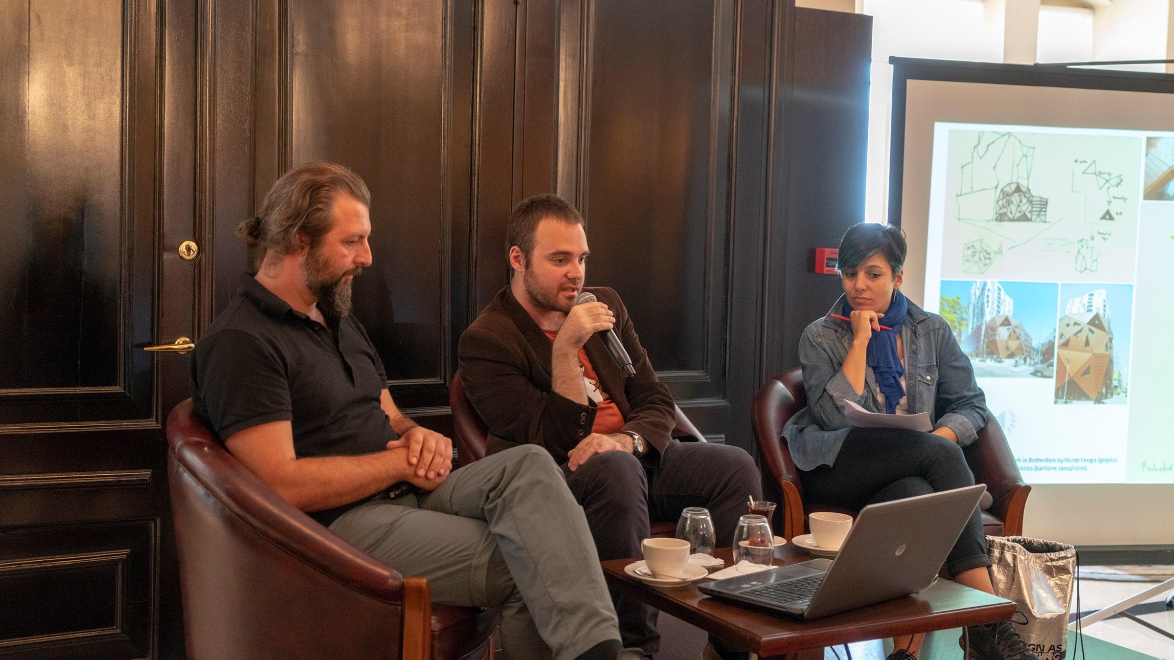 Designer Conversations <br> Ali Murat Cengiz + Gökçe Gürçay (MANG)