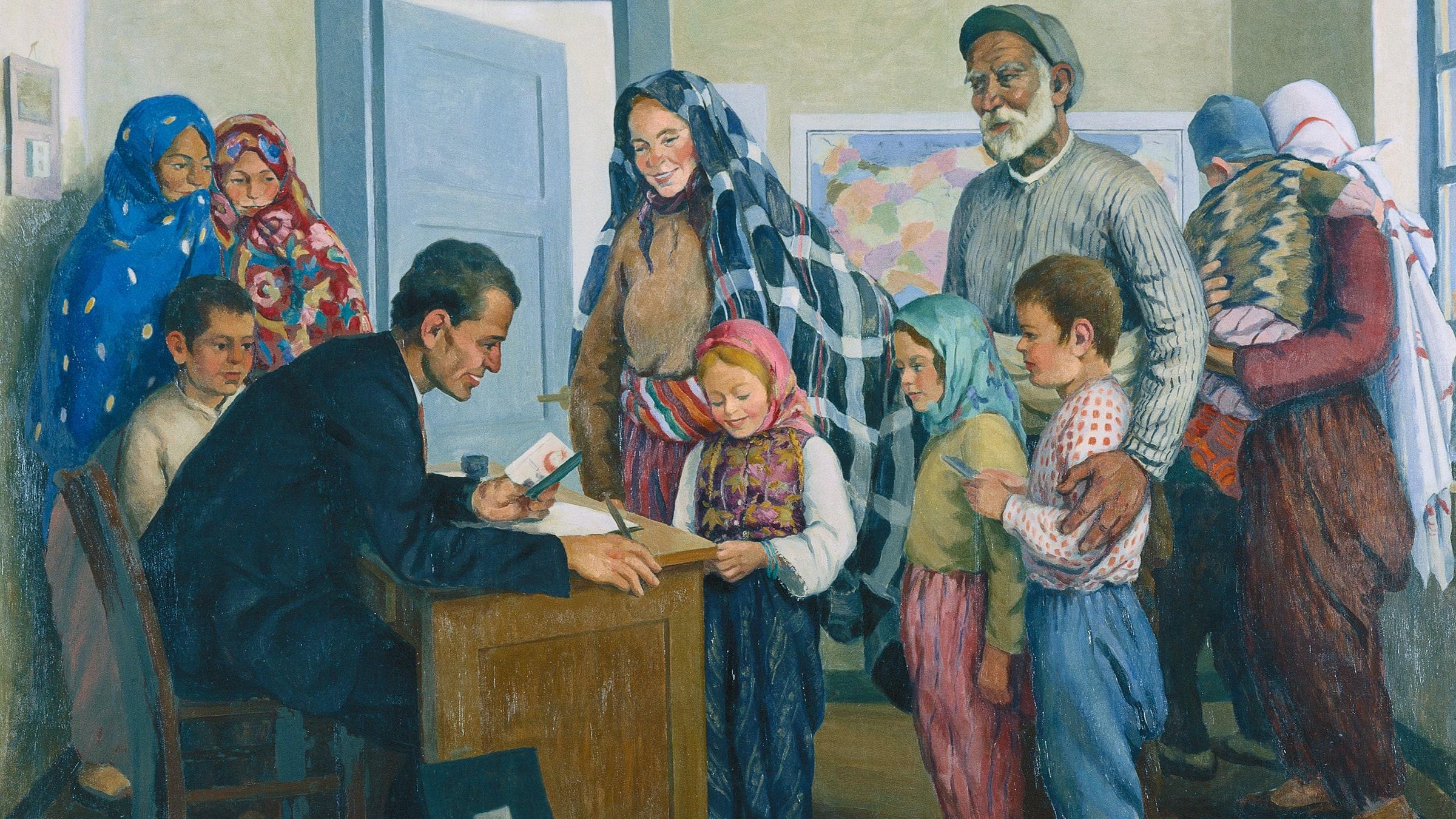Women Paintings Stories