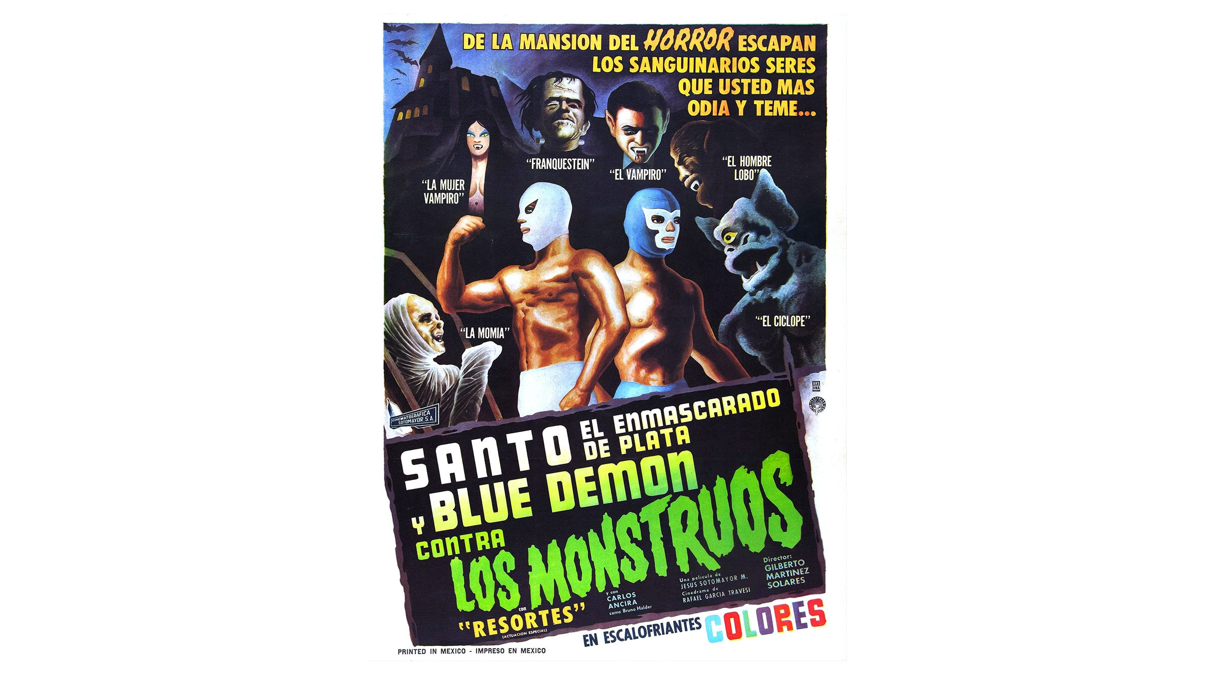 Santo and Blue Demon vs. the Monsters