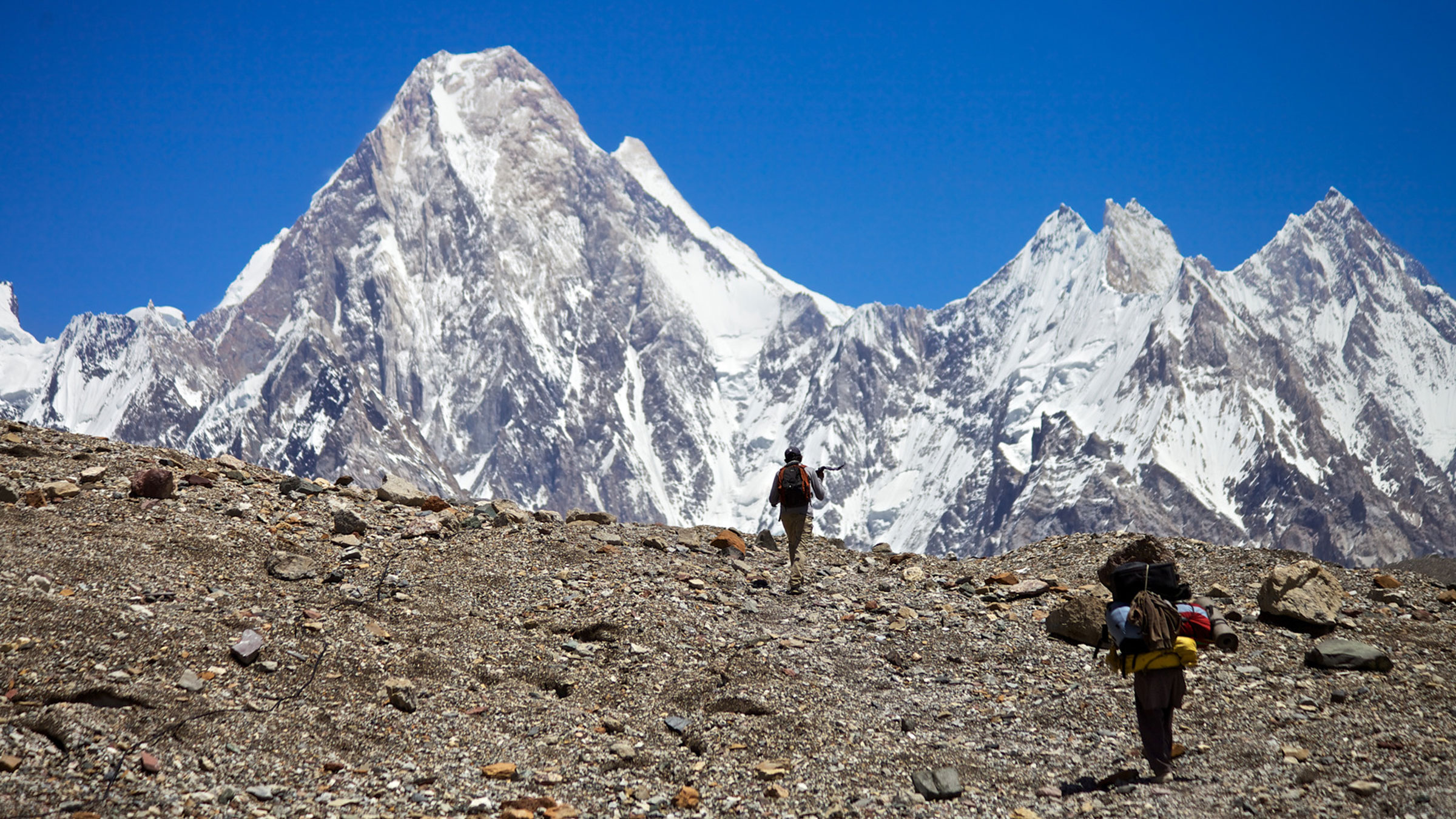 K2 and the Invisible Footmen slide 1