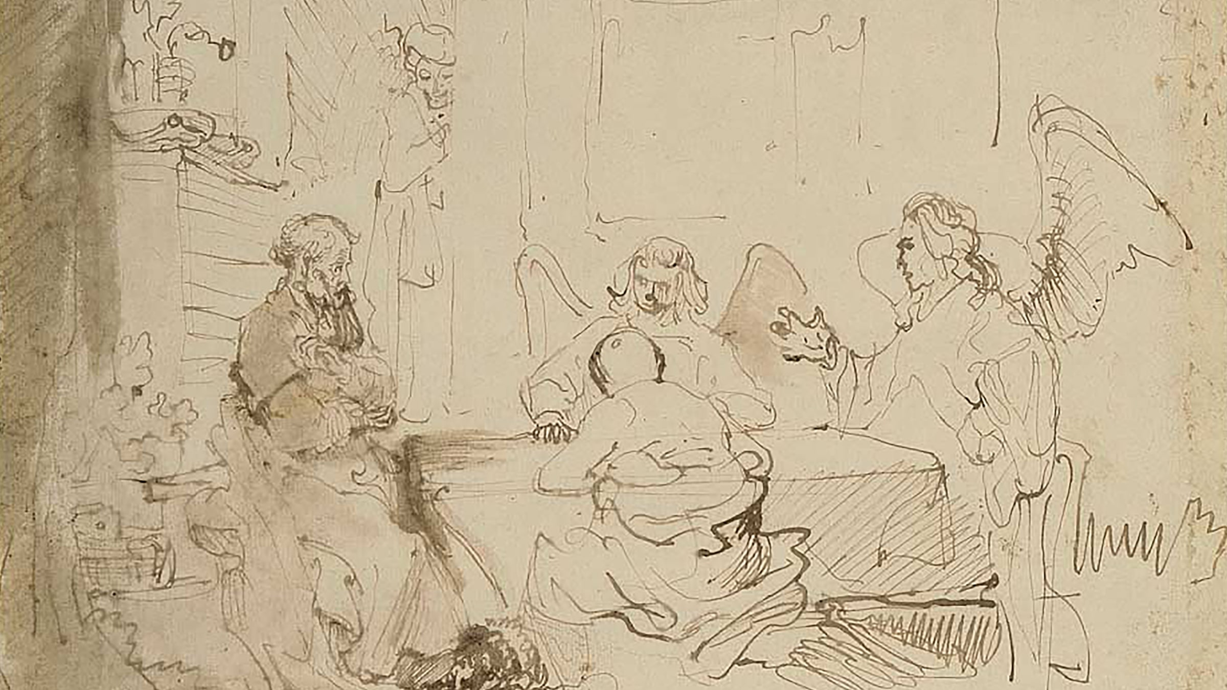 Rembrandt and his Circle / DRAWINGS slide 0