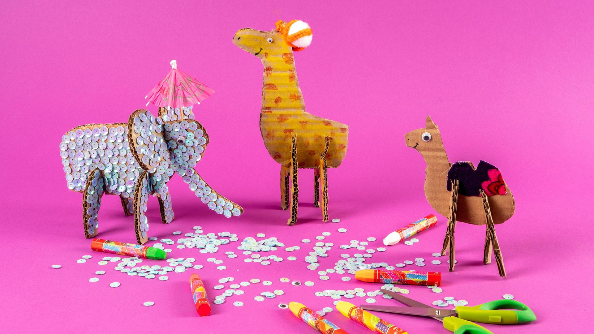 3D Animal Figures (Middle School)