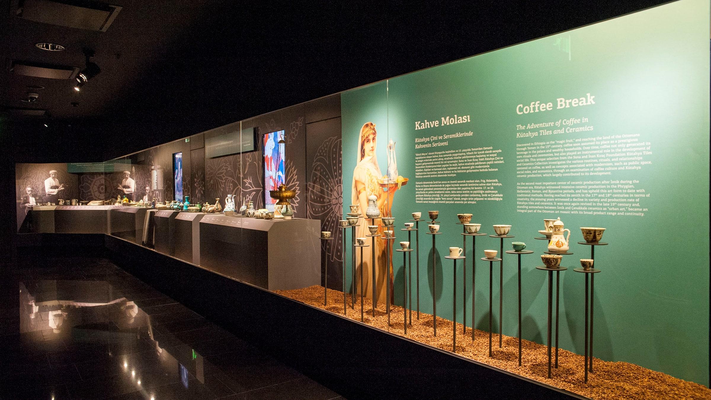 Coffee Break <br>  Online Exhibition Tour (High School)