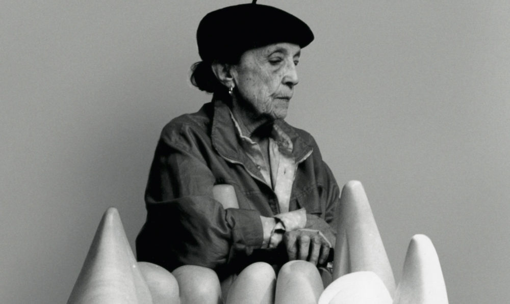"""My body is my sculpture"" <br> Louise Bourgeois"