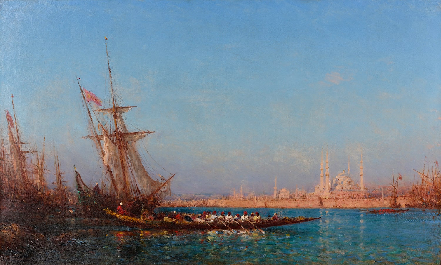 Five Unmissable Istanbul Paintings of Félix Ziem