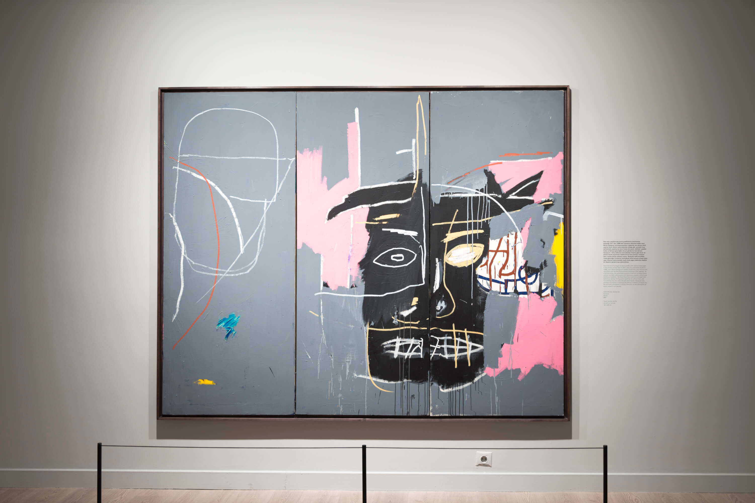 Jean-Michel Basquiat Look At Me!