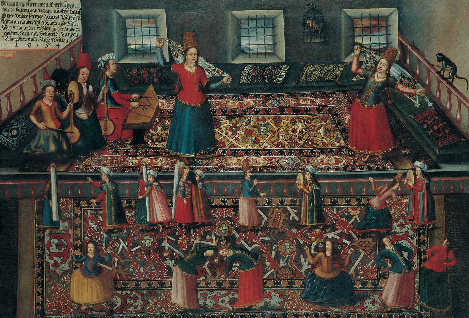 Ottoman Music and Entertainment from the Perspective of Painters