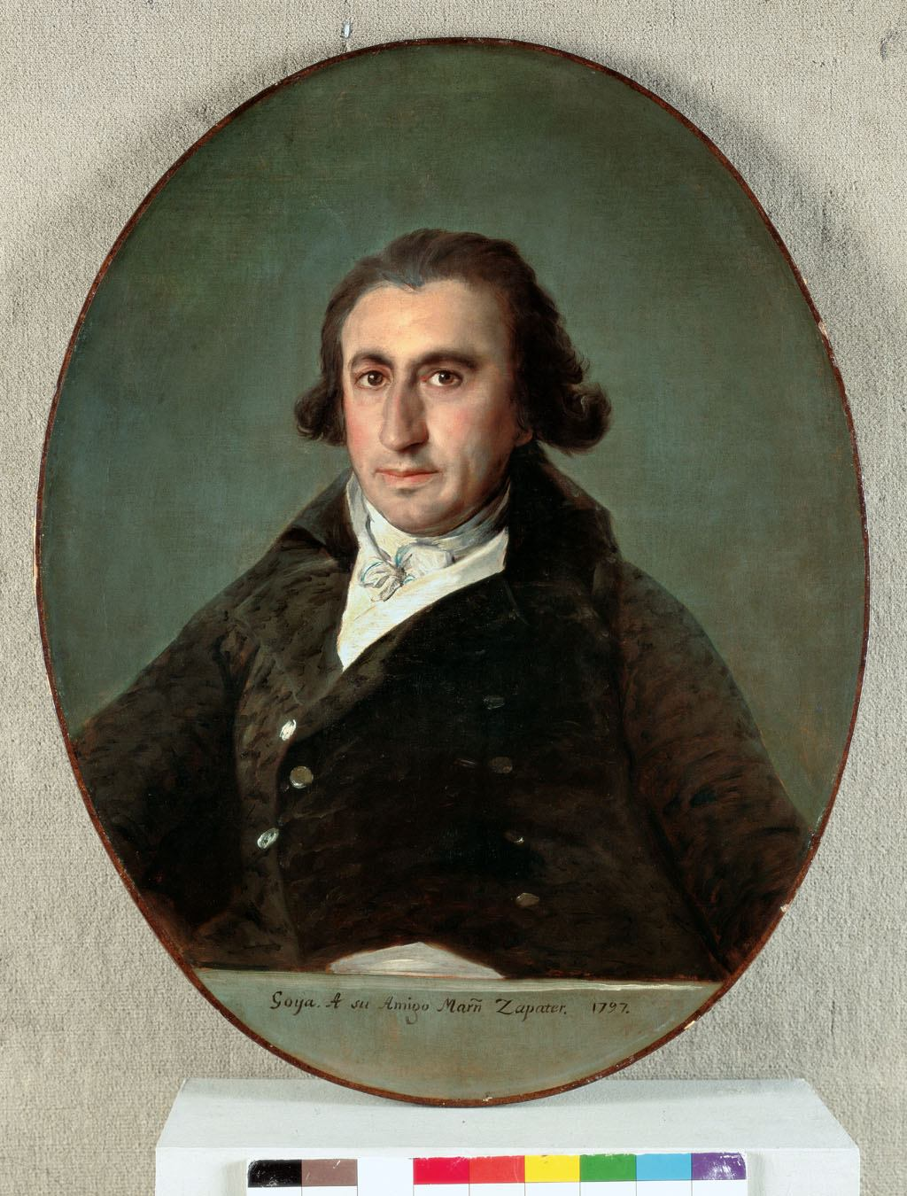Portrait of Martín Zapater (1797)