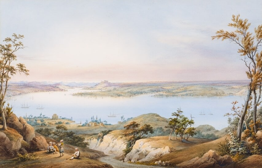 Bosphorus at the Orientalist Paintings